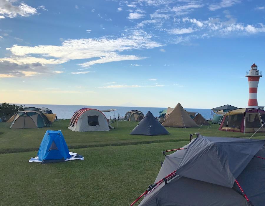初山別みさき台公園キャンプ場